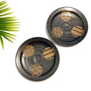 Vintage Aztec Bohemian Small Plates (Set of 2)